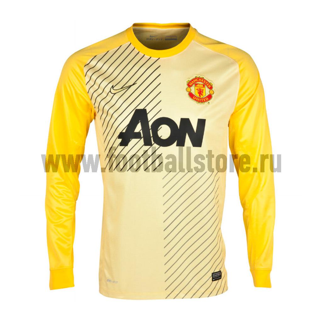 Клубная продукция Nike Свитер вратарский Nike Man Untd Boys GK LS Repl JSY 547954-775