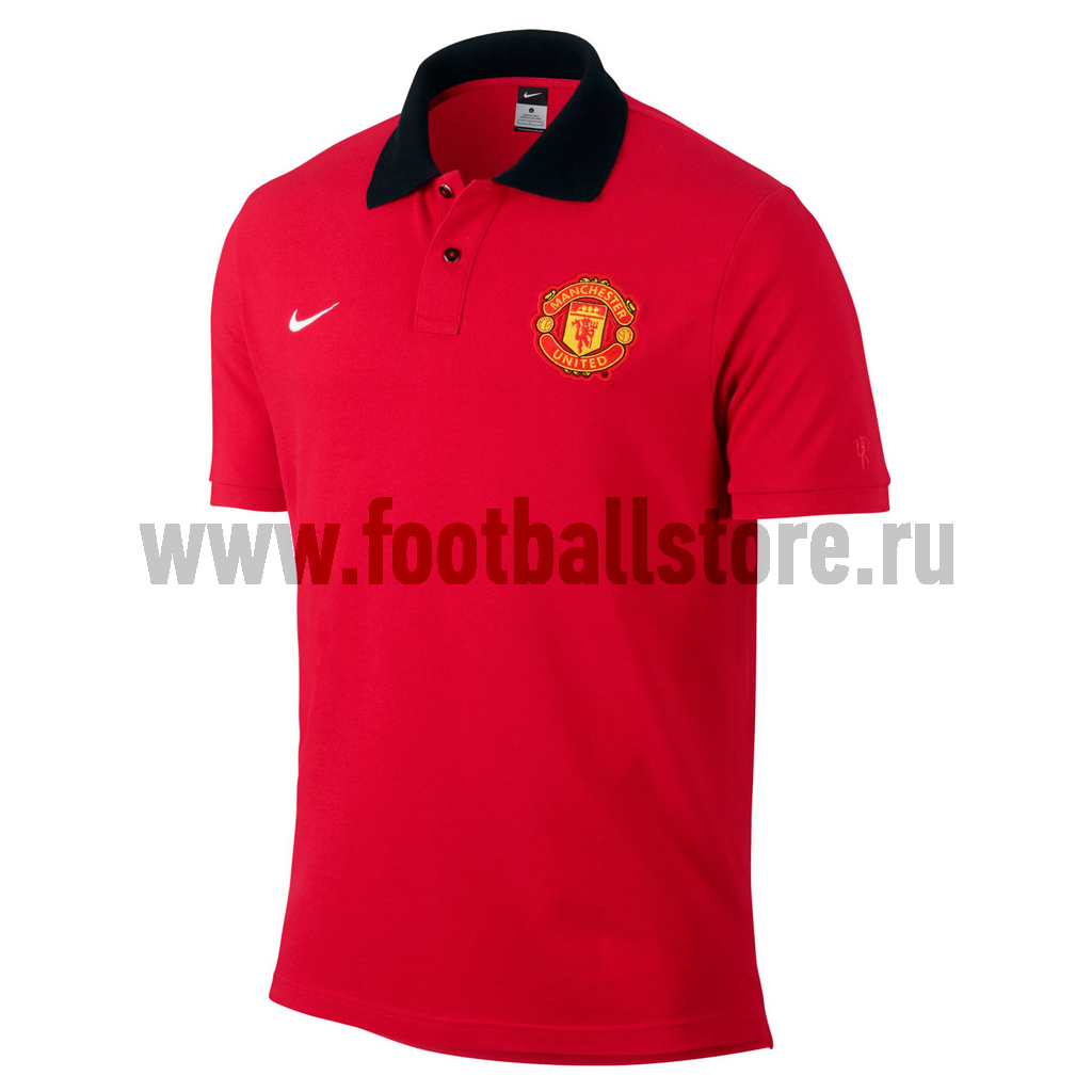 Manchester United Nike Рубашка-поло Nike Man Untd Auth 542404-625