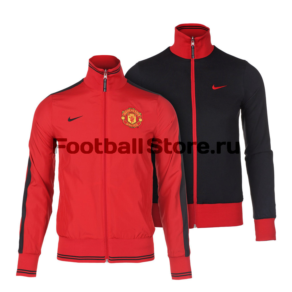Manchester United Nike Куртка Nike Manchester Untd Auth Rev JKT 586163-625