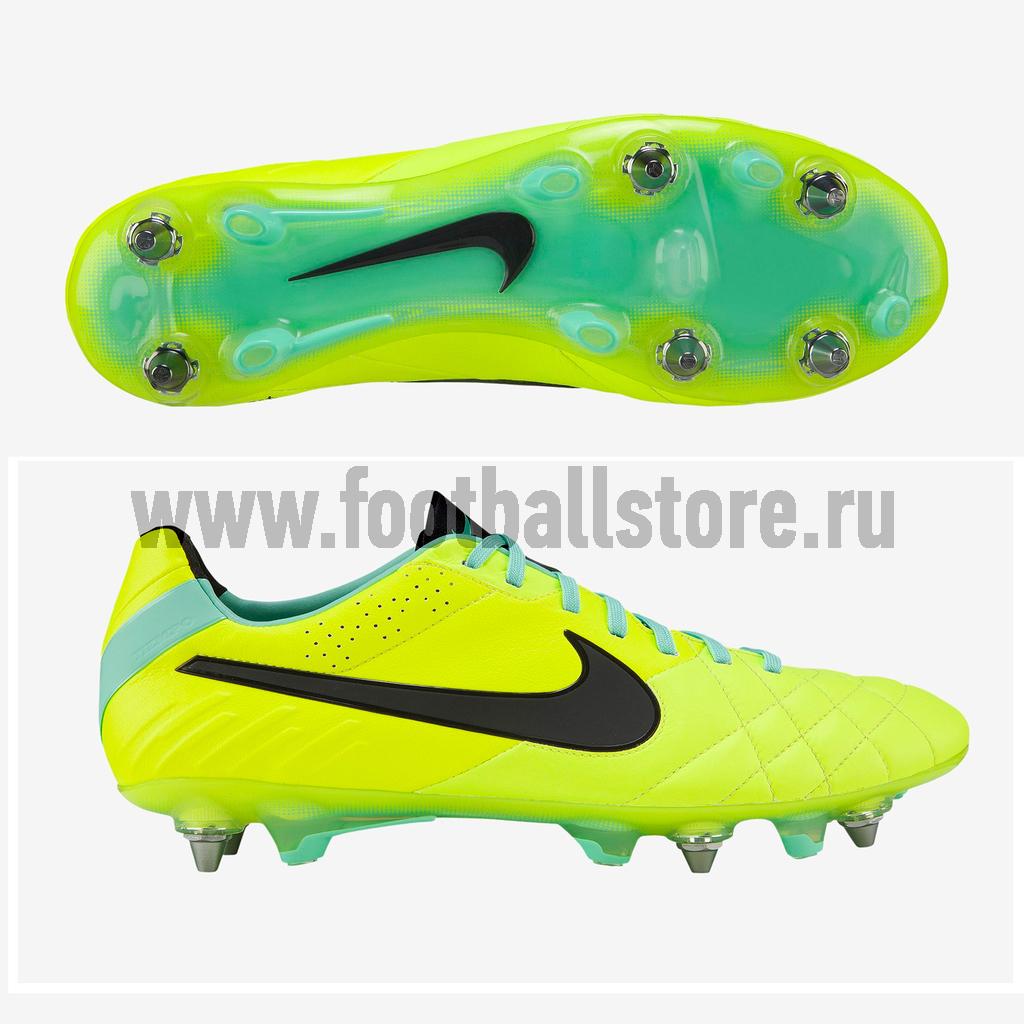Игровые бутсы Nike Бутсы Nike Tiempo Legend IV SG-PRO 509041-703