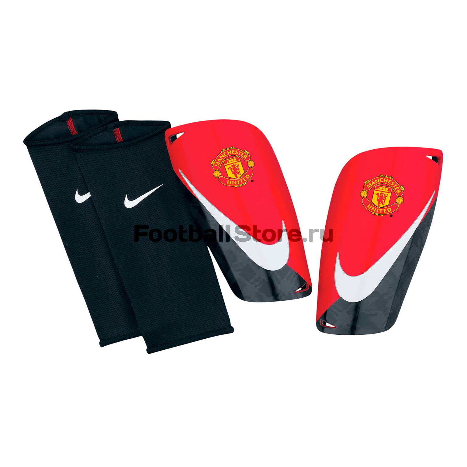 Manchester United Nike Щитки футбольные Nike Mercurial Lite Manchester Untd SP0273-601
