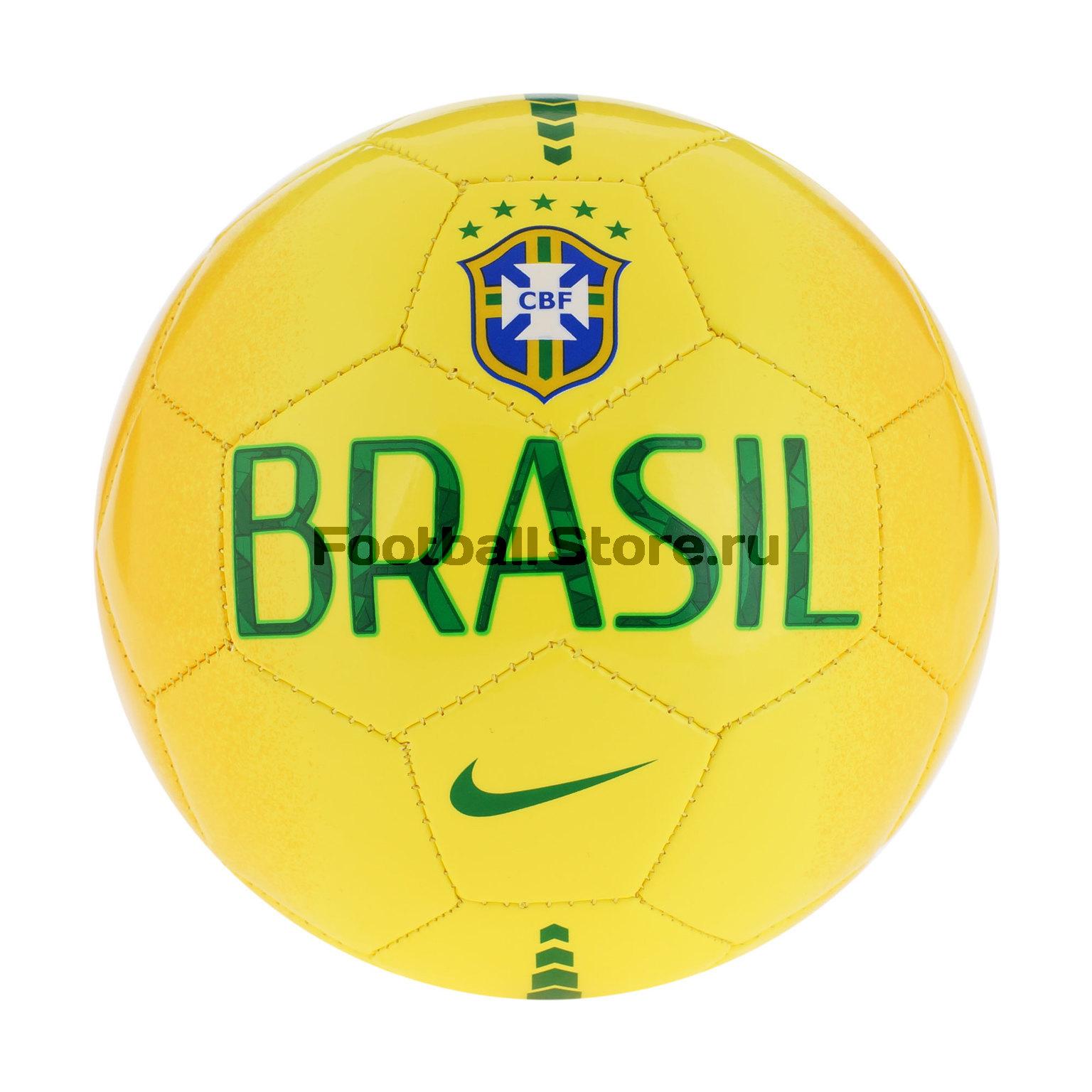 Brasil Nike Мяч сувенирный Nike Brasil Skills SC2464-773