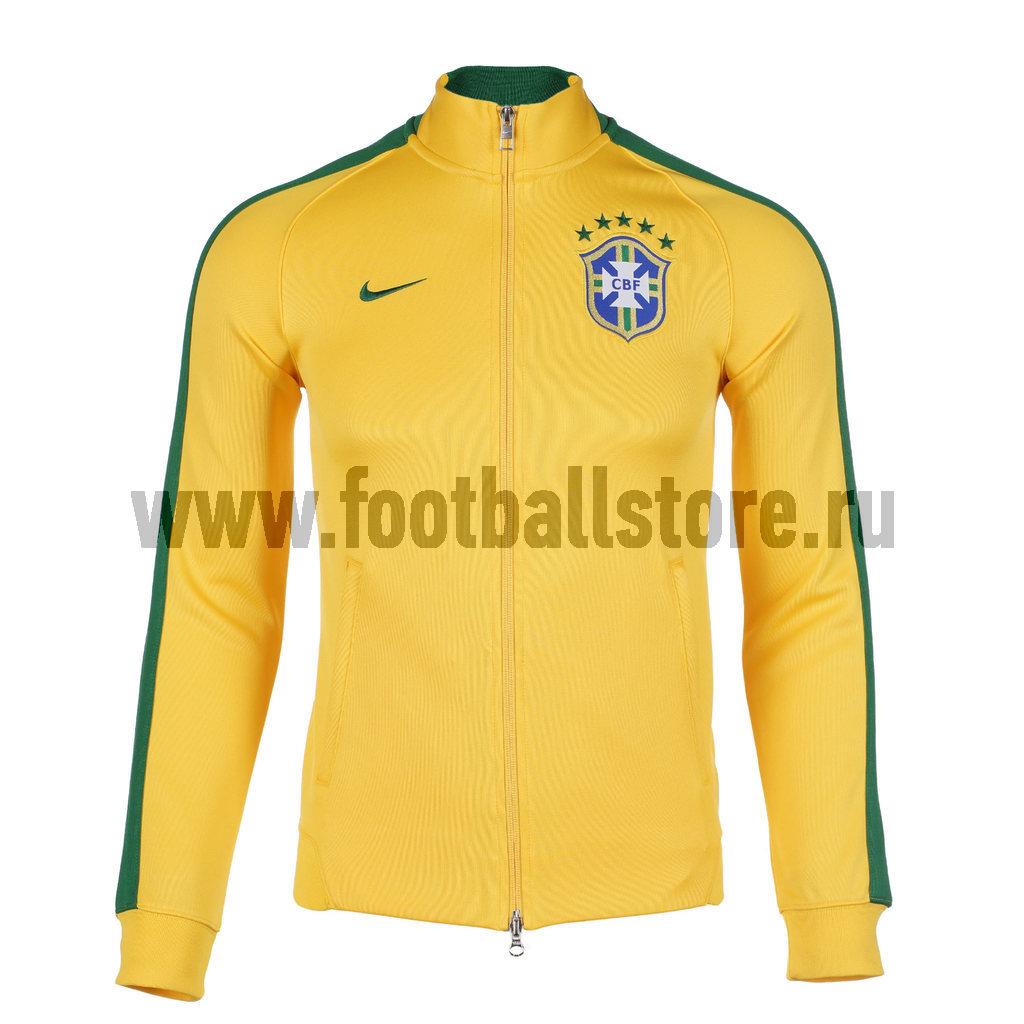 Brasil Nike Олимпийка спортивная Nike Brasil N98 Auth JKT 589852-703