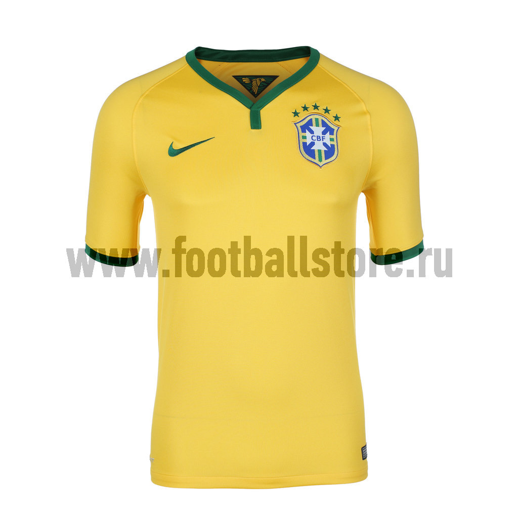 Brasil Nike Футболка игровая Nike Brasil Home Stadium JSY 575280-703