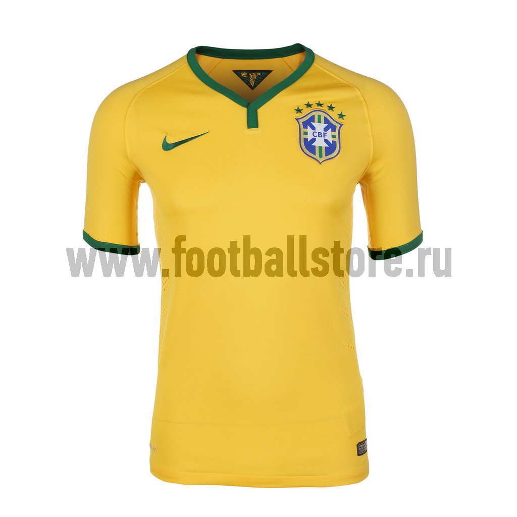 Brasil Nike Футболка игровая Nike Brasil Home Match JSY 575276-703