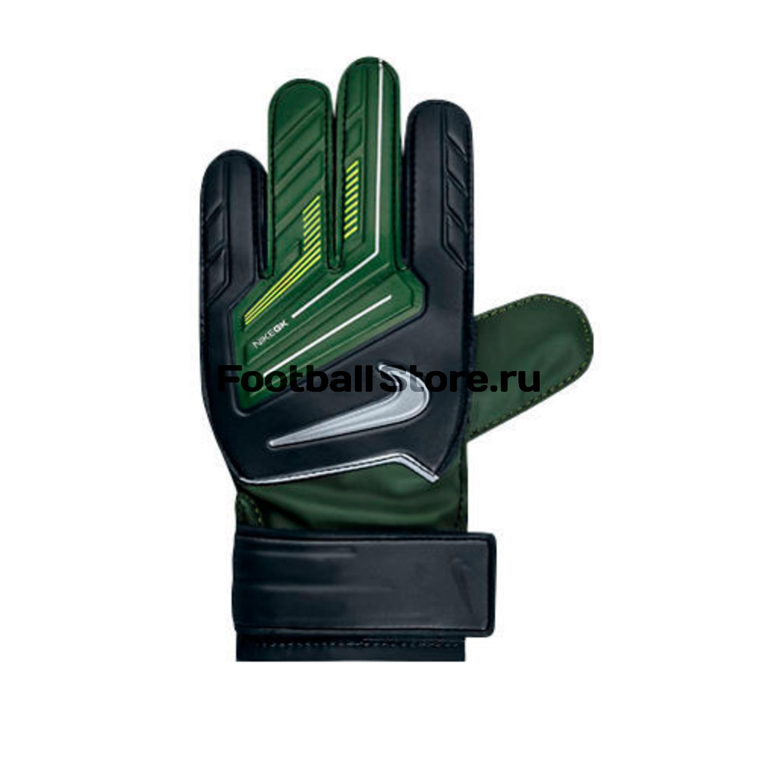 Вратарская экипировка Nike Перчатки вратарские детские Nike GK Grip JR GS0260-037