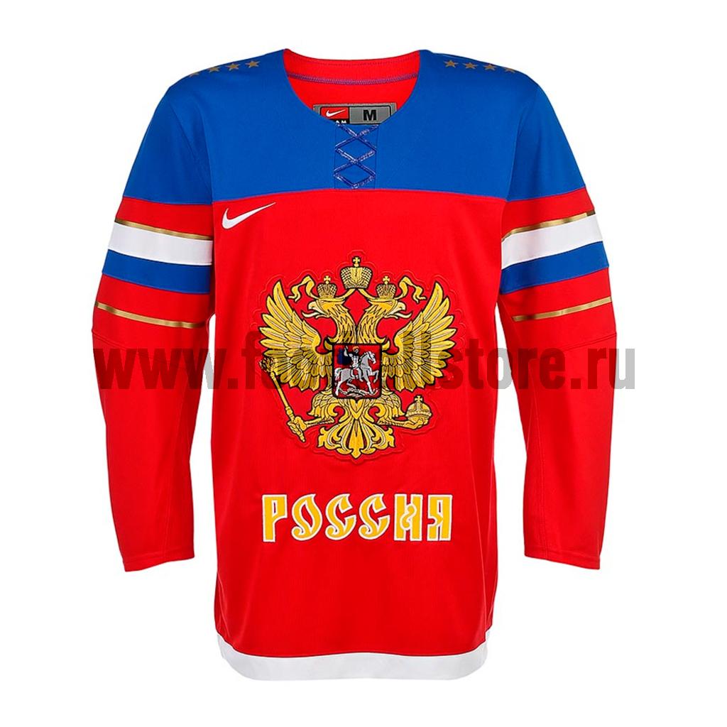 Russia Nike Свитер хоккейный Nike IIHF FAN JSY 1.3 Russia Sochi 575588-657