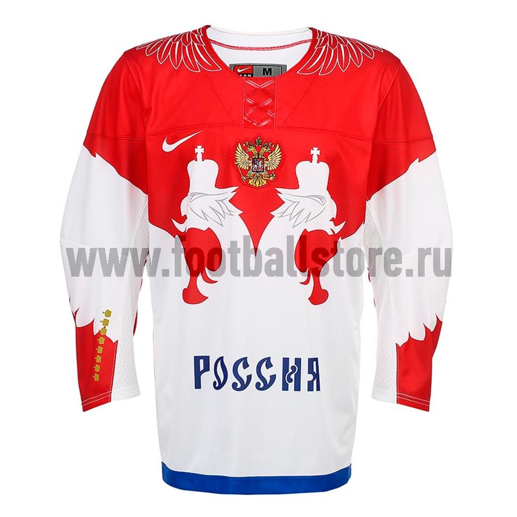 Russia Nike Свитер хоккейный Nike IIHF TWILL JSY 1.3 Russia Sochi 624572-100
