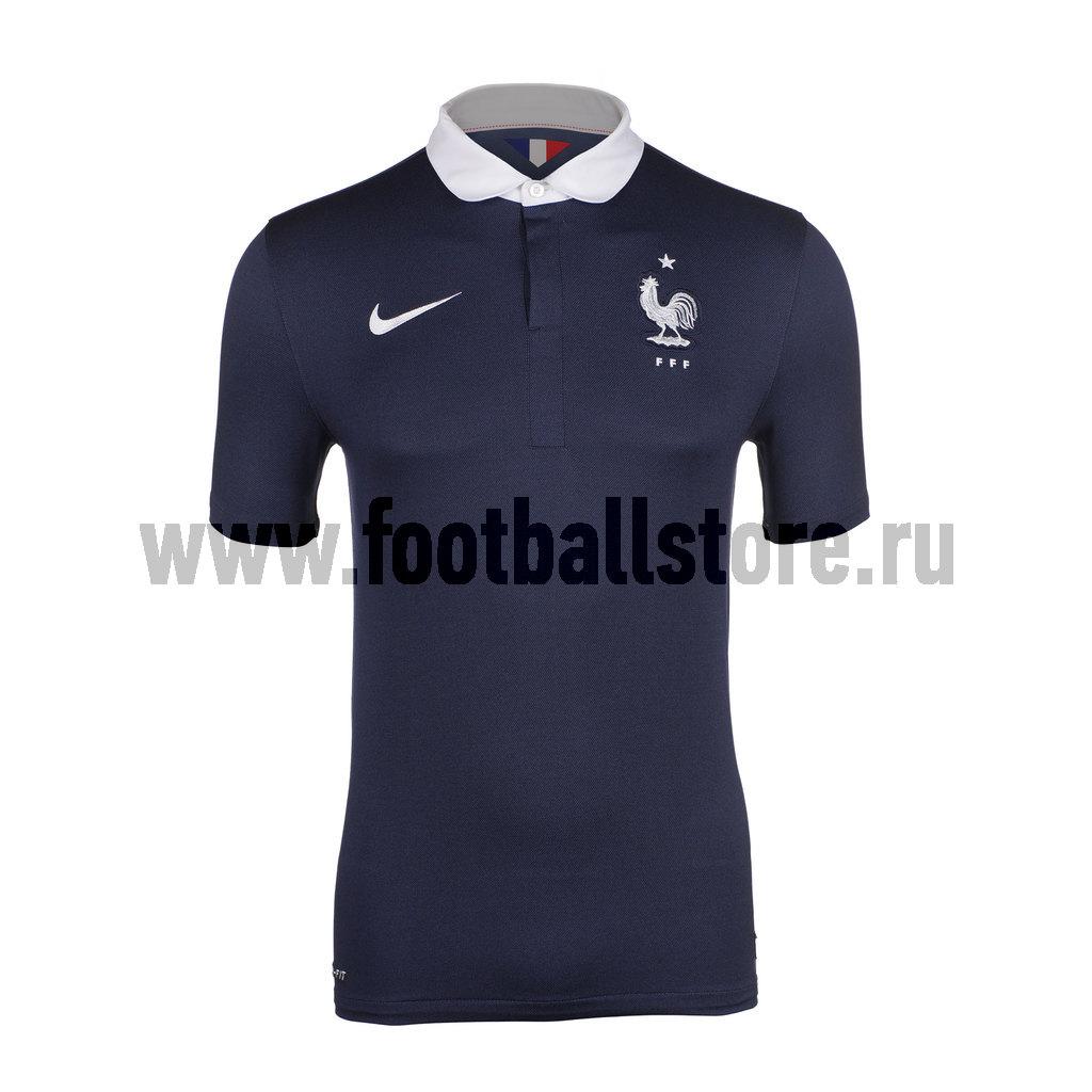 France Nike Футболка игровая Nike France Stadium JSY 577926-410