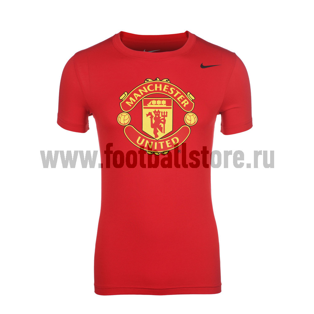 Manchester United Nike Футболка Nike Manchester Untd Core Crest Tee 547185-650