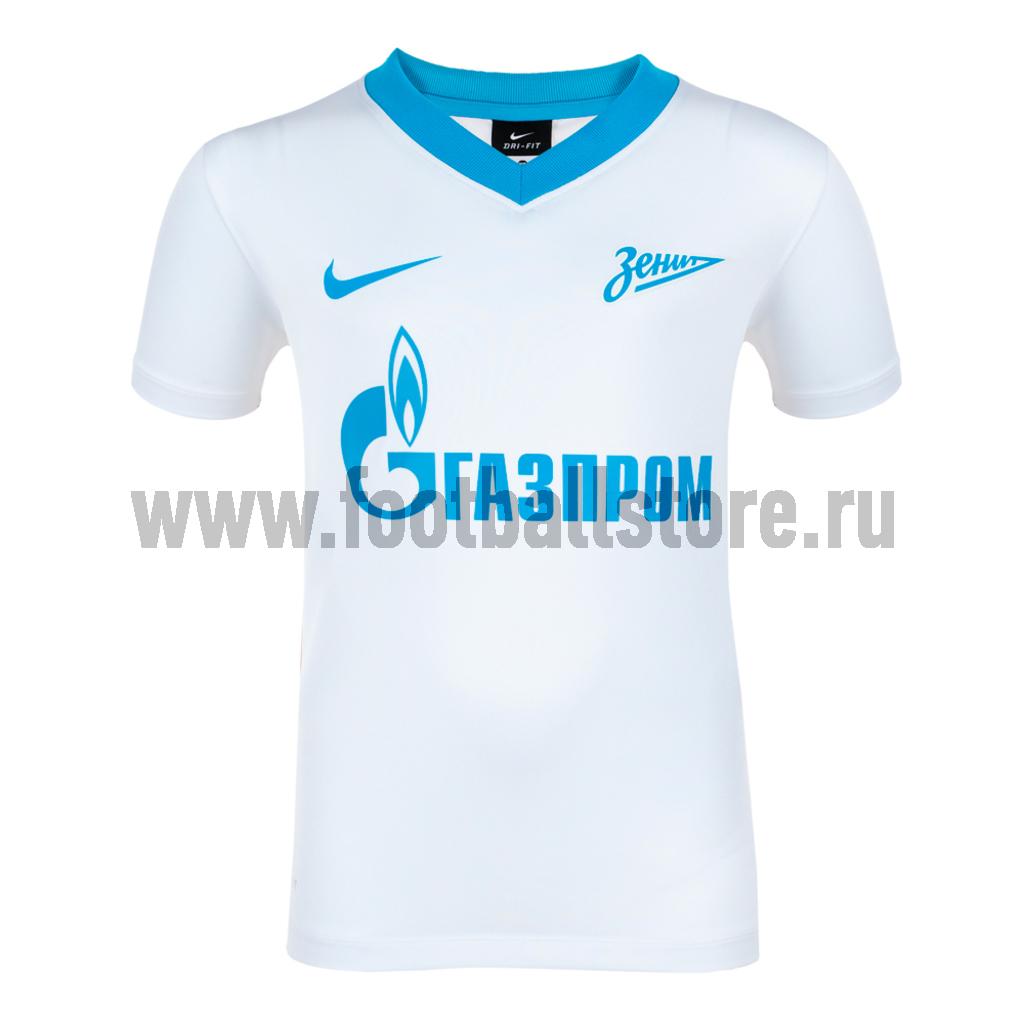 Клубная продукция Nike Футболка игровая детская Nike Zenit Away JSY 544503-106
