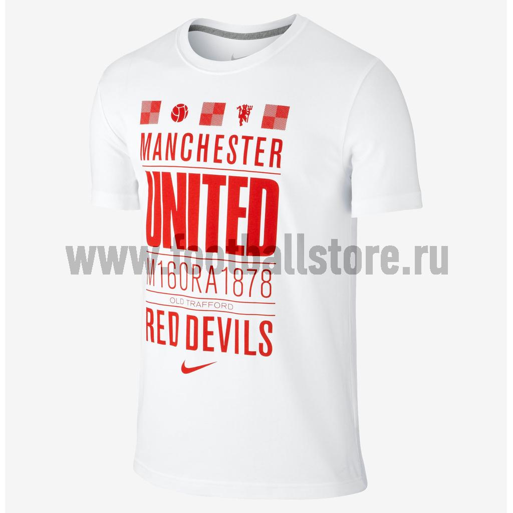 Manchester United Nike Футболка Nike Manchester Core Plus 576471-100