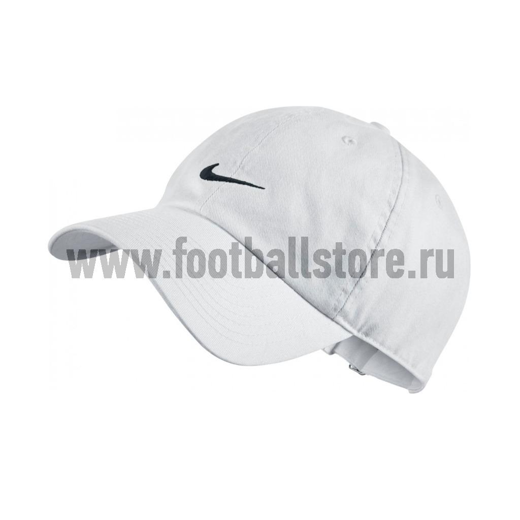 Головные уборы Nike Бейсболка Nike Heritage Swoosh Cap 371218-100