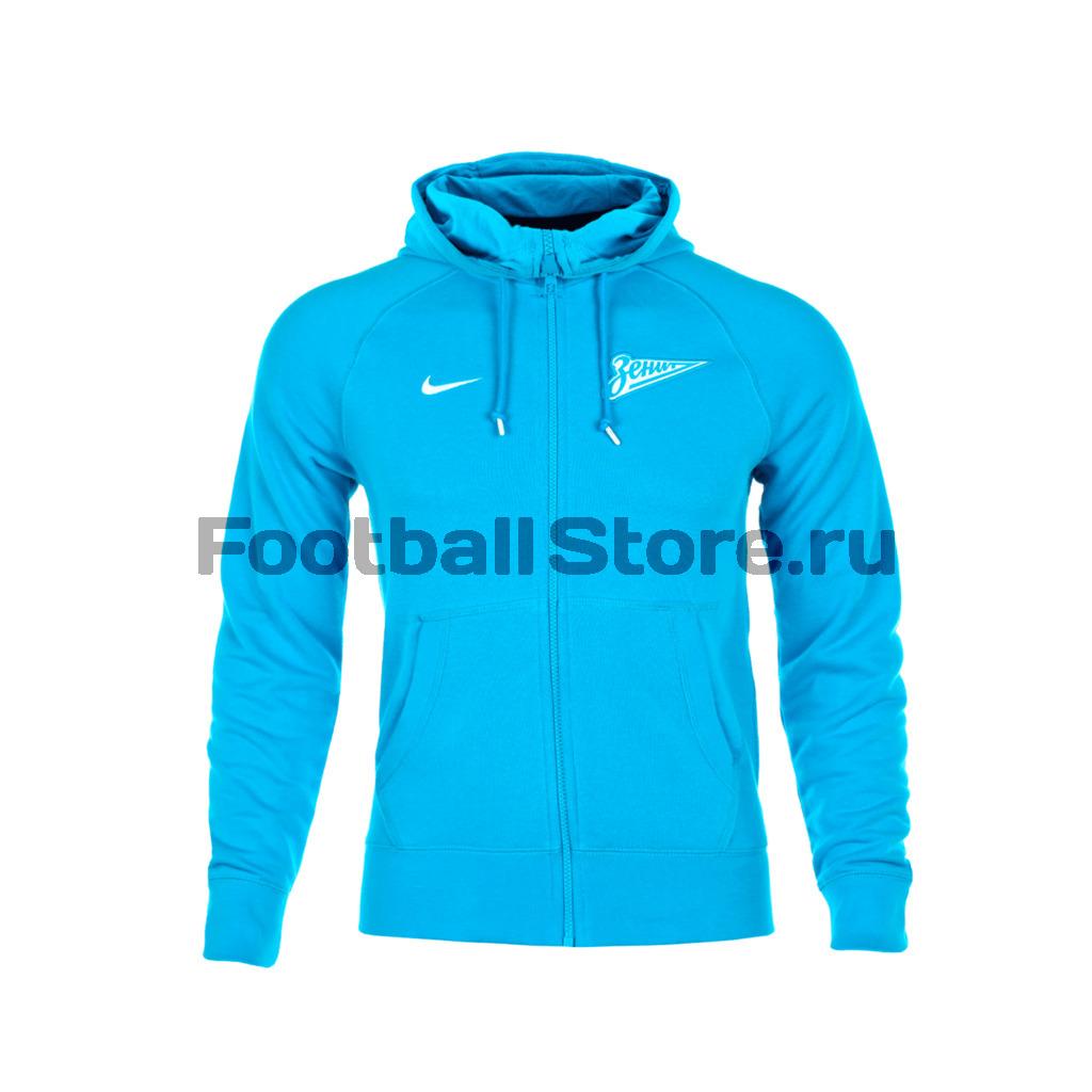 Zenit Nike Толстовка Nike Zenit AUTH FZ Hoody 547056-406