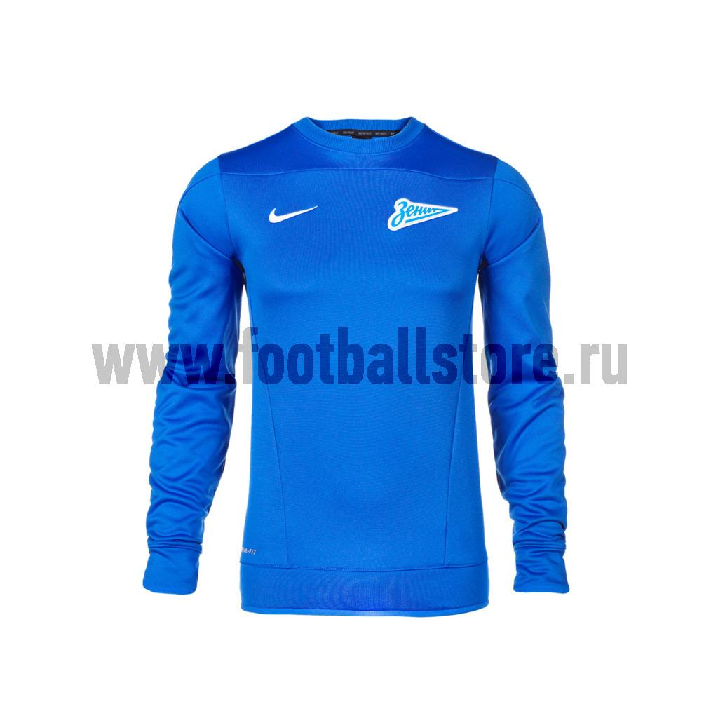 Zenit Nike Свитер тренировочный Nike Zenit Squad OTH LS TOP 584881-401