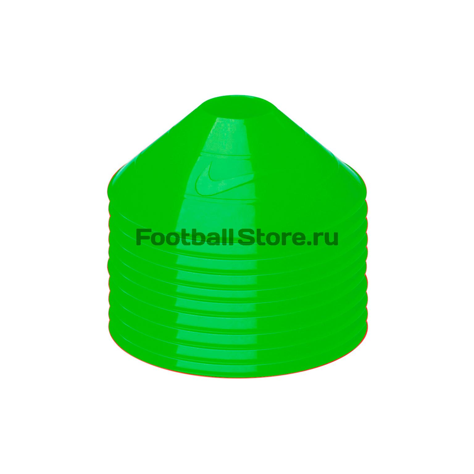 Спортинвентарь Nike Конусы Тренировочные Nike 10 Pack Training Cones N.SR.08.301.NS