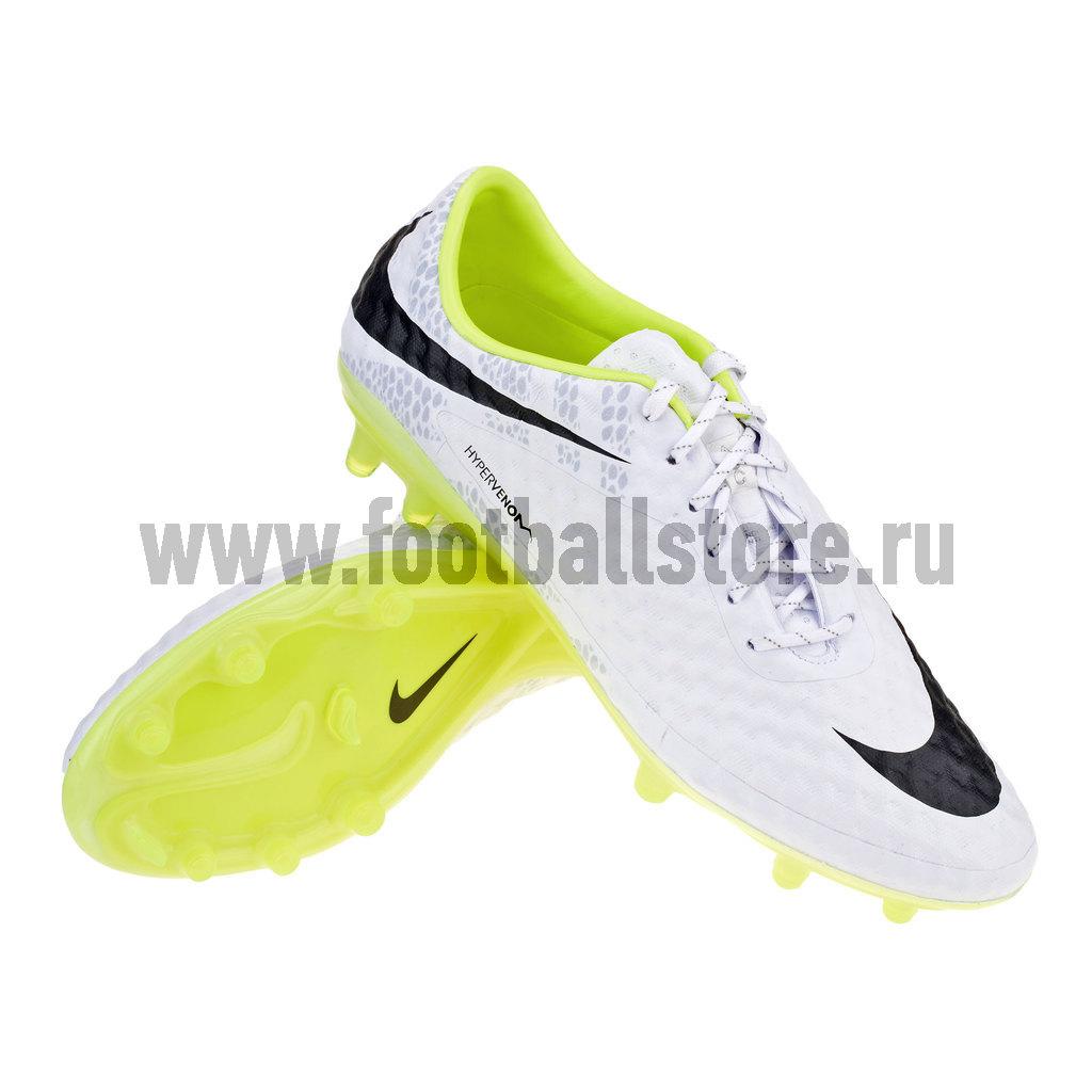 Игровые бутсы Nike Бутсы Nike Hypervenom Phantom REF FG 631431-107
