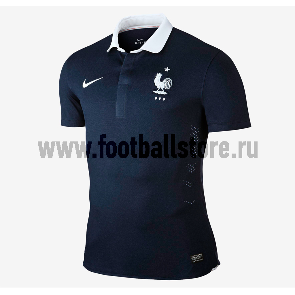 France Nike Футболка Nike FFF SS Home Match JSY 577924-410