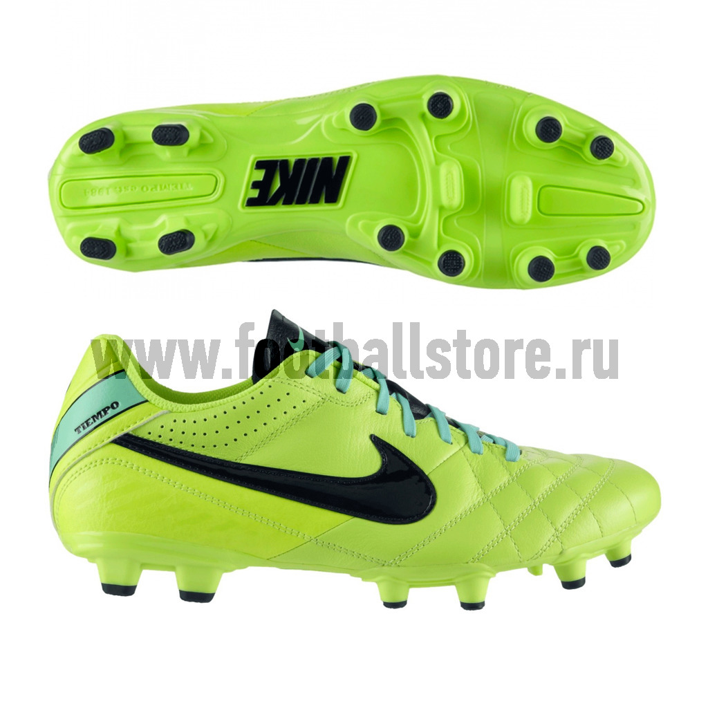 Игровые бутсы Nike Бутсы Nike Tiempo Natural IV LTR FG 509085-703