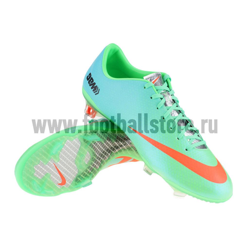 Игровые бутсы Nike Бутсы Nike Mercurial Vapor IX FG Sochi 555605-380