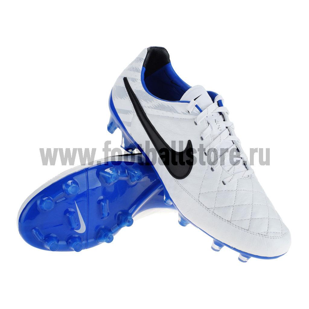 Игровые бутсы Nike Бутсы Nike Tiempo Legend V Reflective FG 631424-104