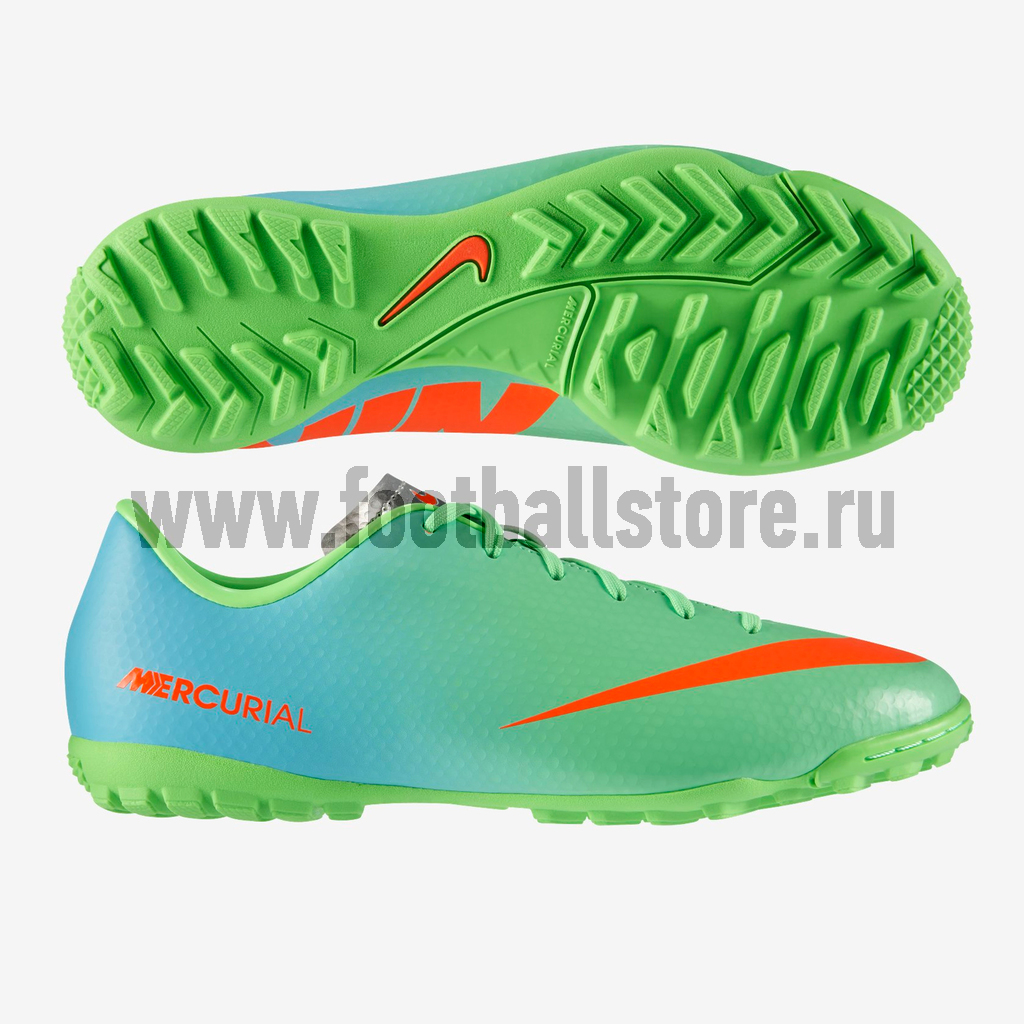 Бутсы Nike Шиповки Nike Mercurial Victory IV TF JR 555634-380