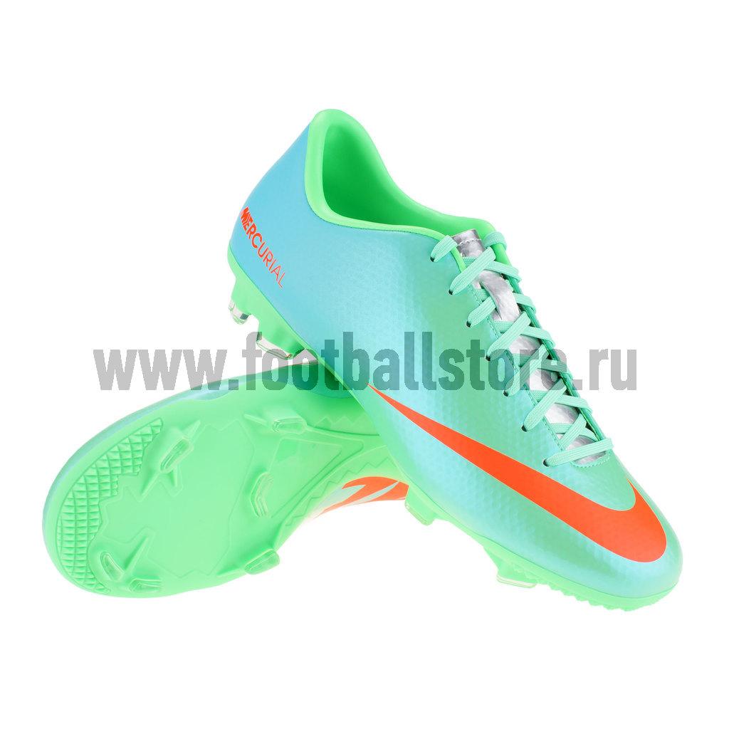 Игровые бутсы Nike Бутсы Nike Mercurial Victory IV FG 555613-380