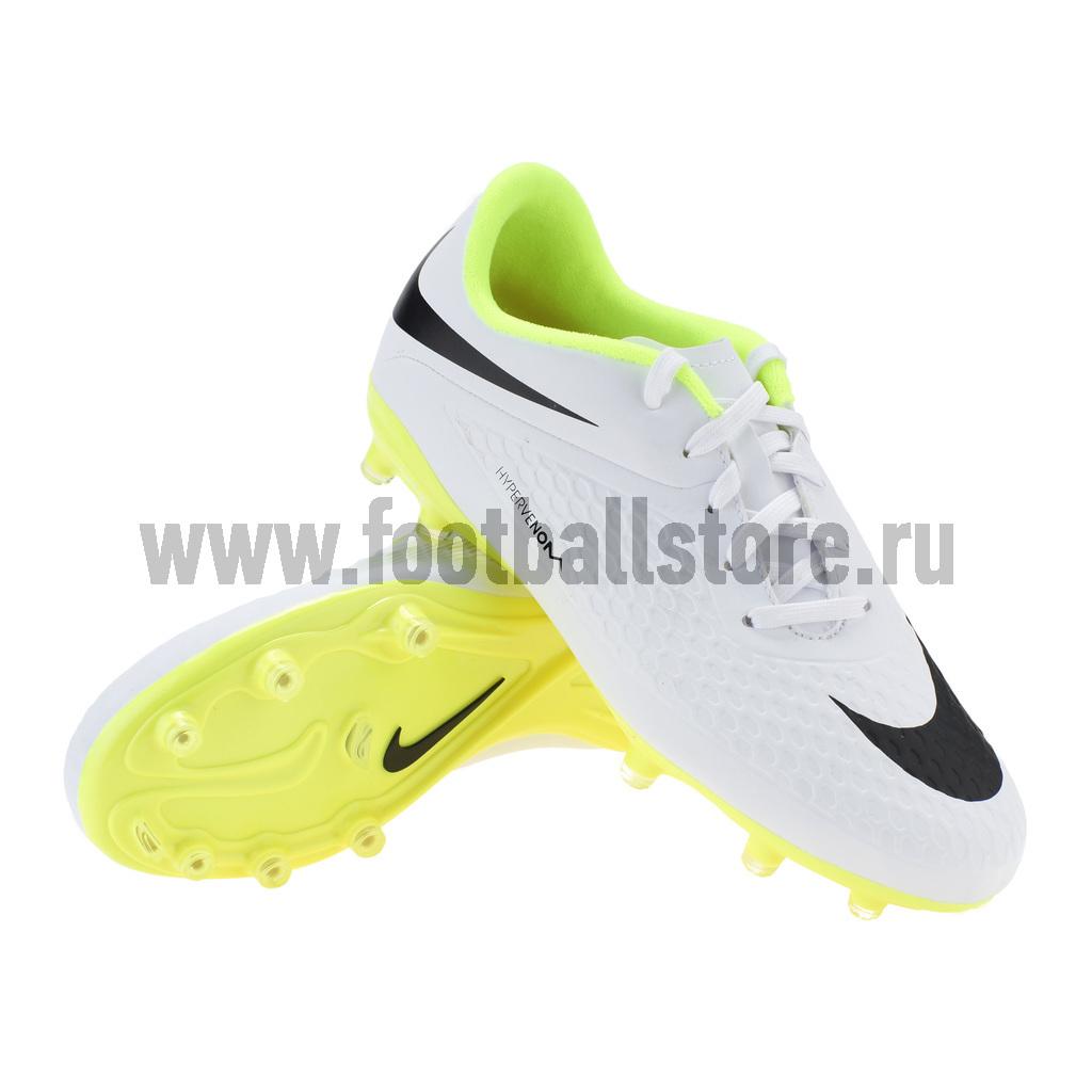 Бутсы Nike Бутсы Nike JR Hypervenom Phelon FG 599062-107