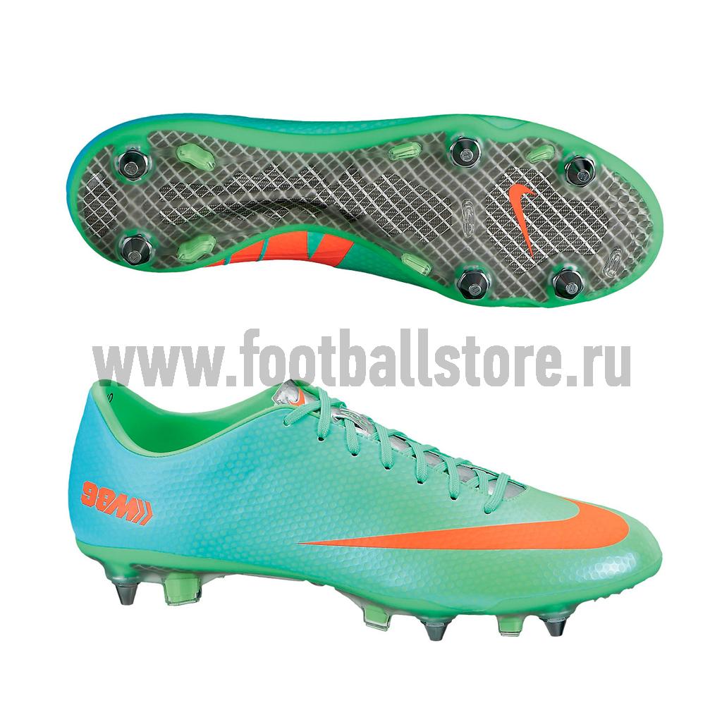 Игровые бутсы Nike Бутсы Nike Mercurial Vapor IX SG PRO 555607-380