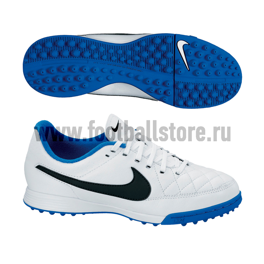 Бутсы Nike Шиповки Nike JR Tiempo Genio Leather TF 631529-104