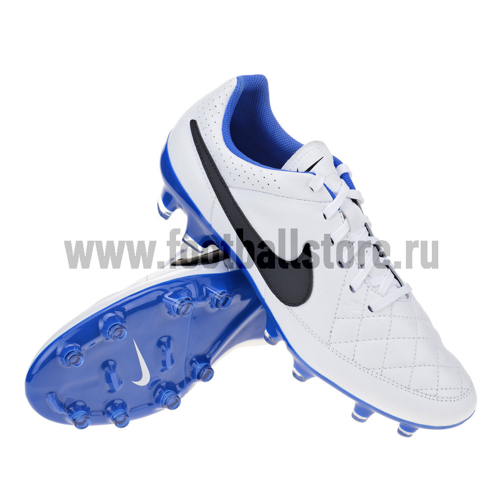 Игровые бутсы Nike Бутсы Nike Tiempo Genio Leather FG 631282-104