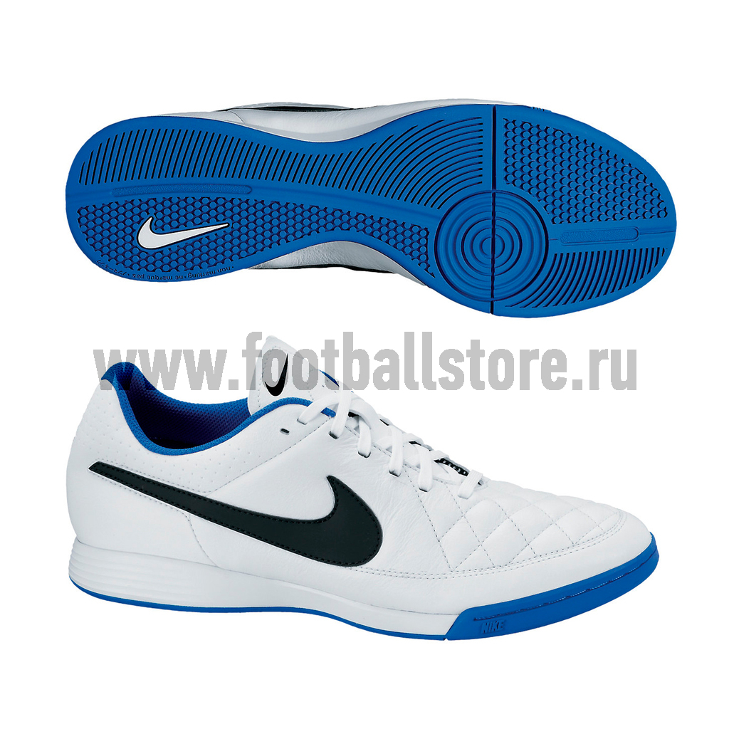 Обувь для зала Nike Обувь для зала Nike Tiempo Genio Leather IC 631283-104