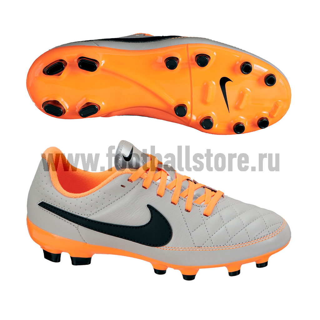 Бутсы Nike Бутсы Nike Tiempo Genio Leather JR FG 630861-008