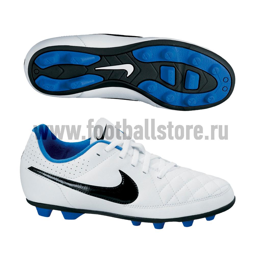Бутсы Nike Бутсы Nike JR Tiempo Rio II FG-R 631286-104