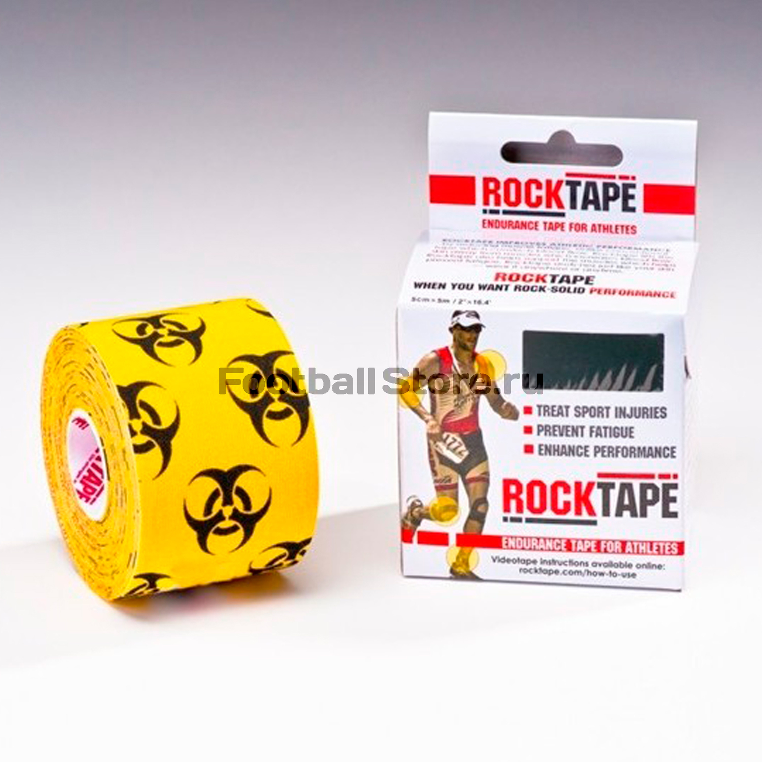 Тейп Кинезио Rocktape, design, биоугроза 5см х 5м тейп кинезио rocktape design череп 5см х 5м