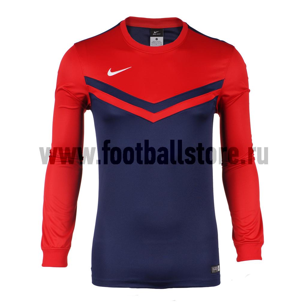 Футболки Nike Футболка игровая Nike LS Victory II JSY 588409-411