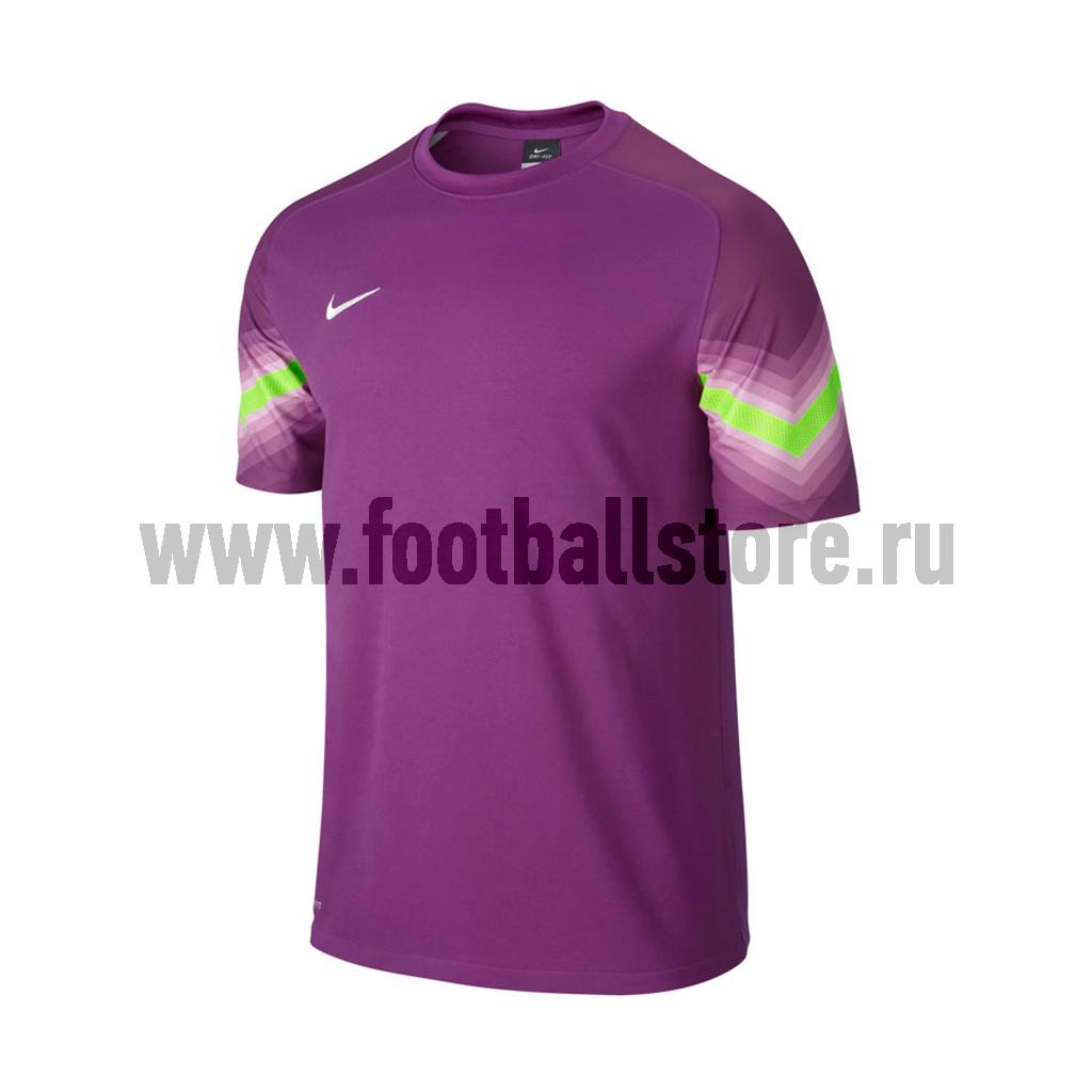 Футболка вратарская Nike SS Goleiro JSY 588416-550 nike футболка zenit ss h a stadium jsy