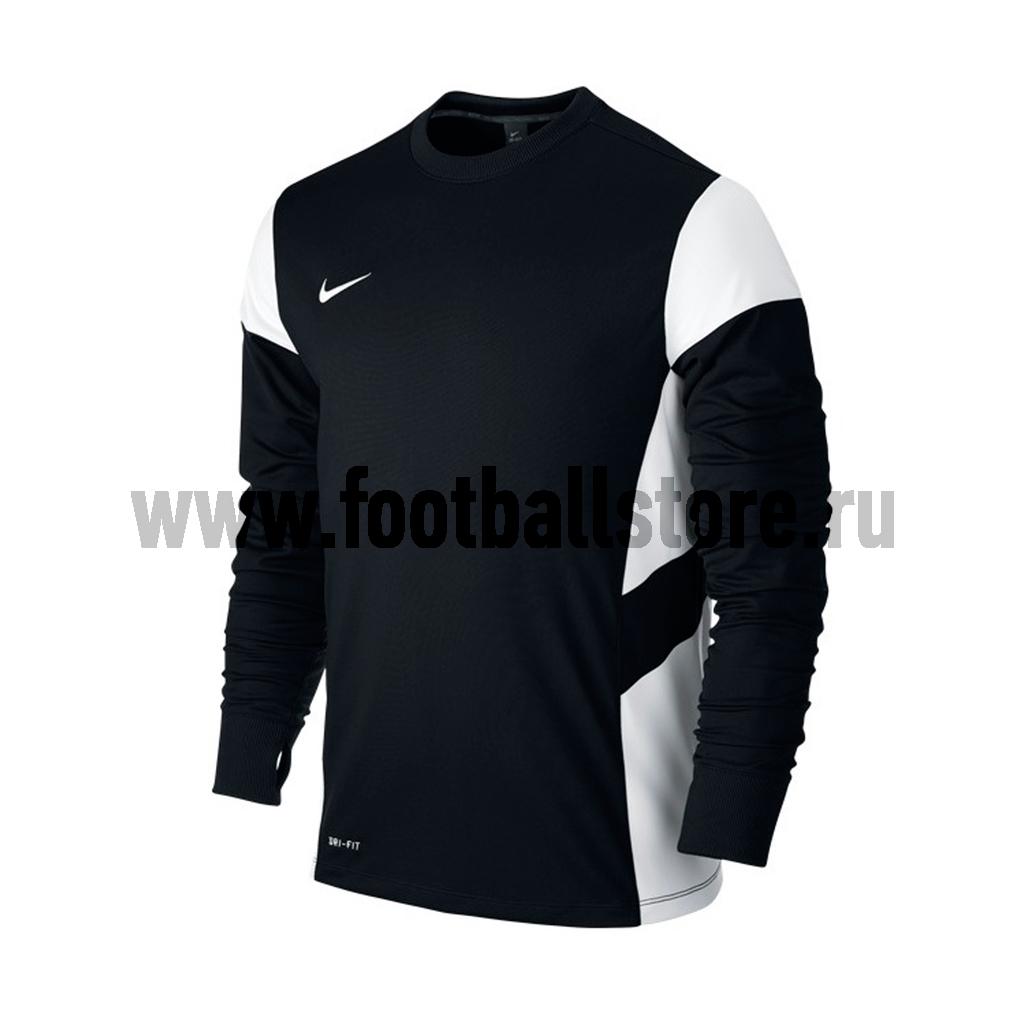 Свитера/Толстовки Nike Свитер тренировочный Nike LS Academy 14 Midlayer 588471-010 свитера толстовки nike свитер тренировочный nike ls academy 14 midlayer 588471 657