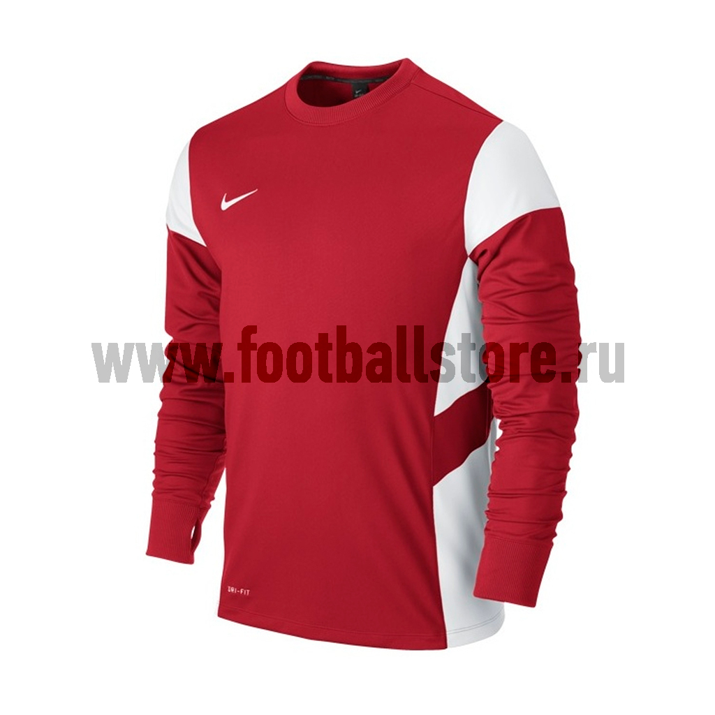 Свитера/Толстовки Nike Свитер тренировочный Nike LS Academy 14 Midlayer 588471-657 свитера толстовки nike свитер тренировочный nike ls academy 14 midlayer 588471 657