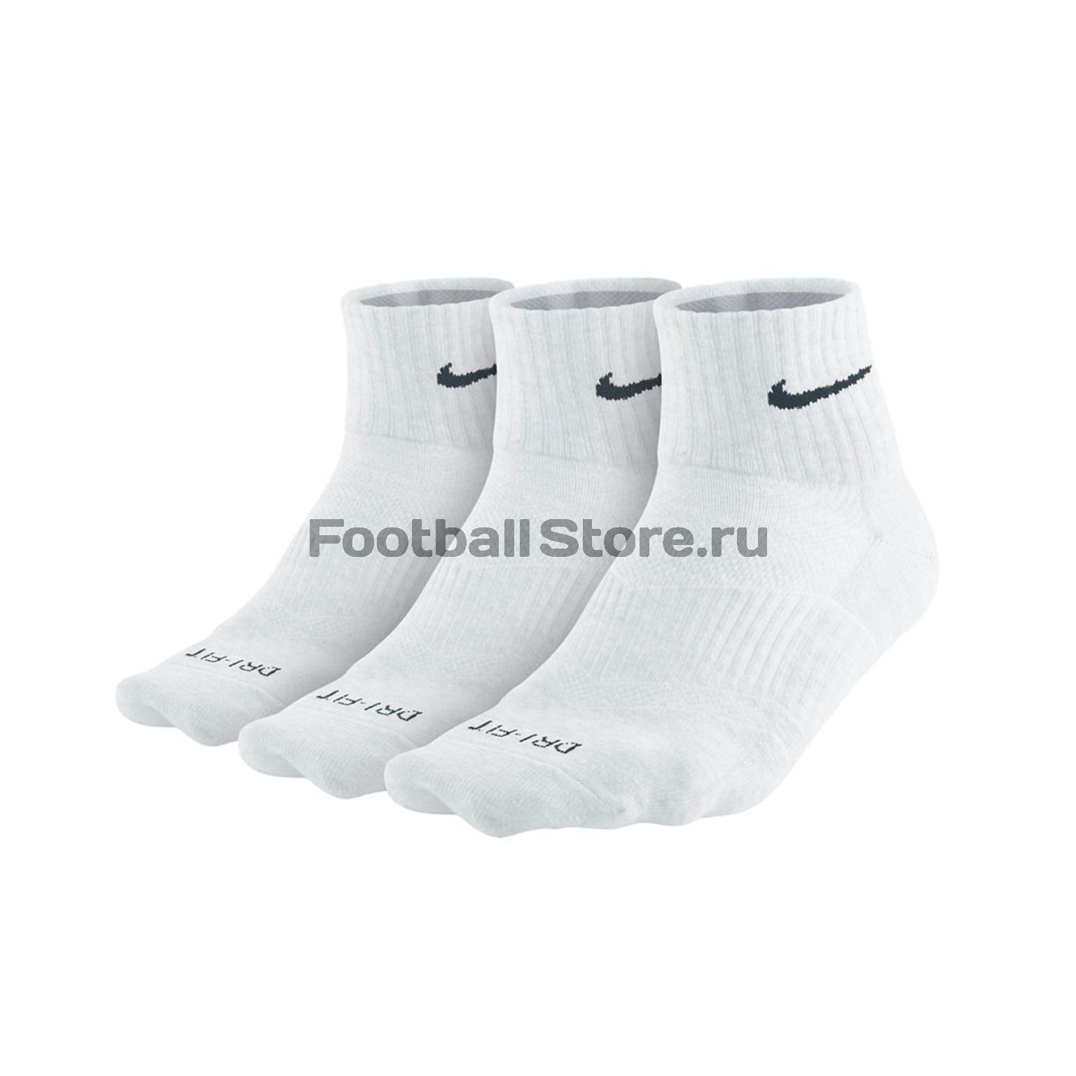 Комплект носков Nike 3PPK D-F Lightweight QTR SX4847-101