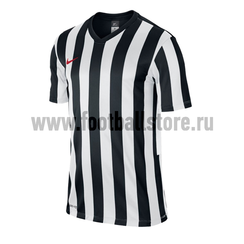 Футболка игровая Nike Striped Division Boys JSY 588433-010 футболки nike футболка nike ss striped division ii jsy 725893 011