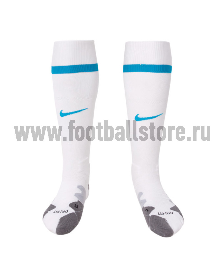 Клубная продукция Nike Гетры белые Nike Zenit 48051-105