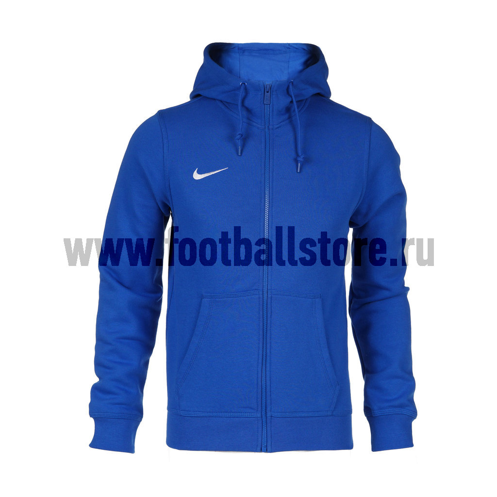 Толстовка Nike Team Club FZ Hoody 658497-463 цена