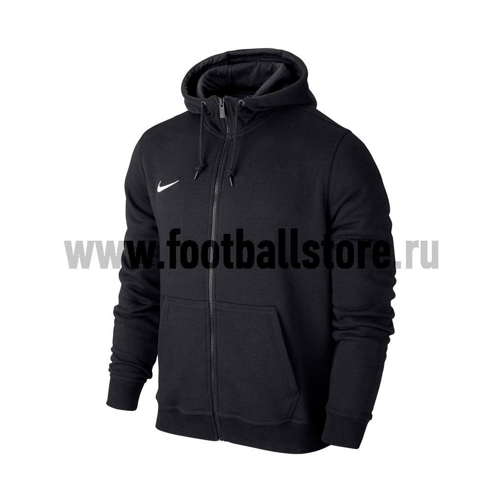 Толстовка Nike Team Club FZ Hoody 658497-010 куртка nike team winter jkt 645484 010