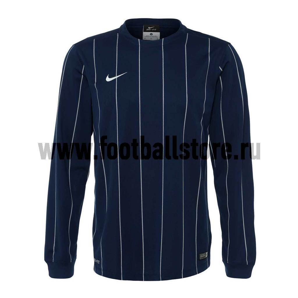 Футболка Nike LS Striped Segment II JSY 645492-410 теннисный инвентарь nike dri fit singlewide red white 2015