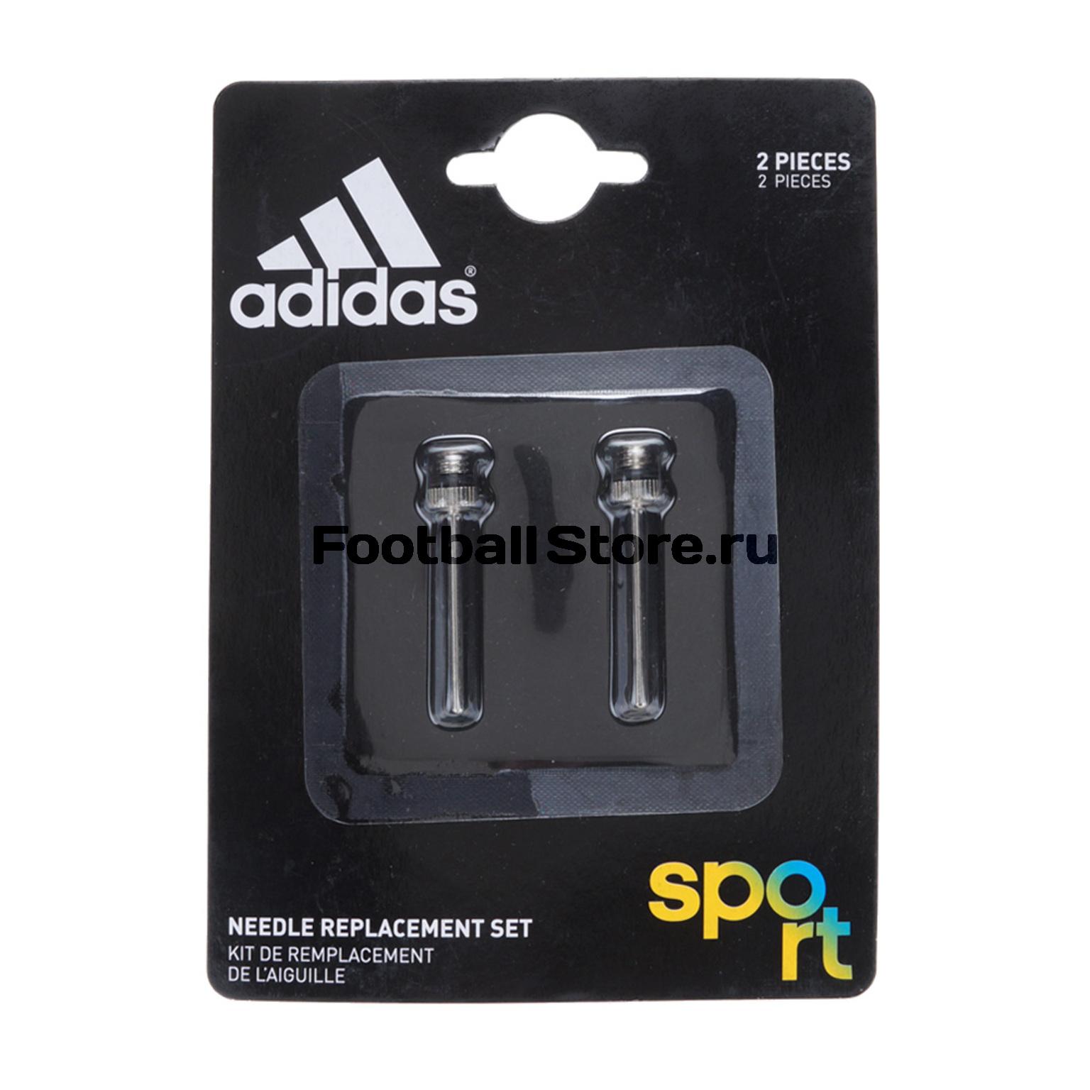 купить Комплект игл для насоса Adidas Needle Repl Set Silver G70908 дешево