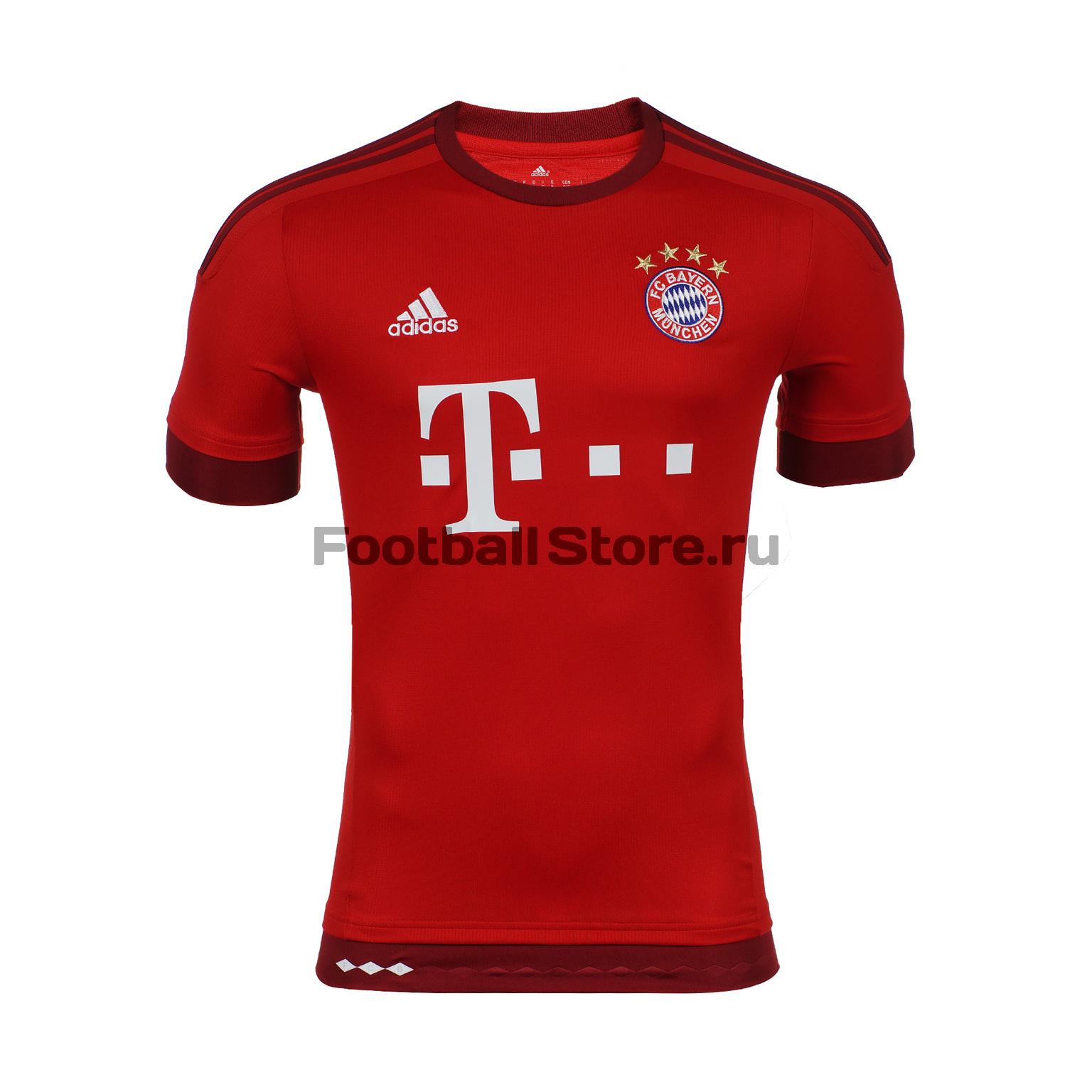Bayern Adidas Футболка игровая Adidas Bayern Home JSY S14294 футболка mitre футболка игровая mitre modena взрослая