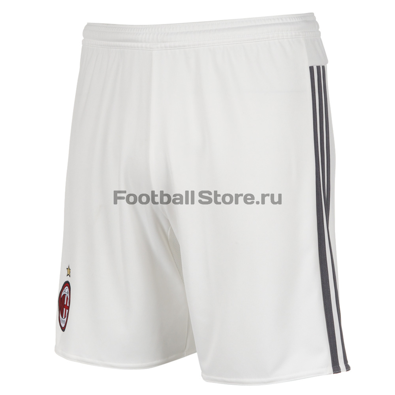 Клубная продукция Adidas Шорты игровые подростковые Adidas Milan Home S11846