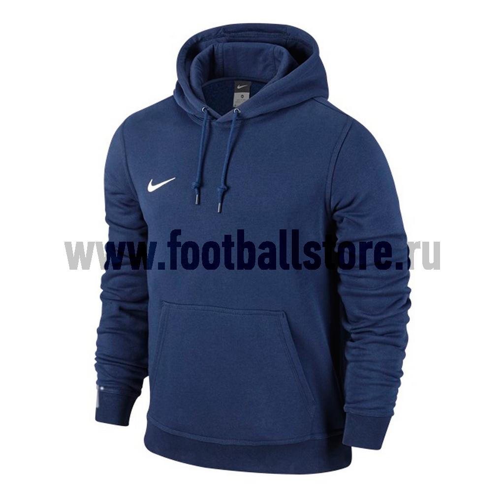 Свитера/Толстовки Nike Толстовка Nike Team Club Hoody 658498-451 цена и фото