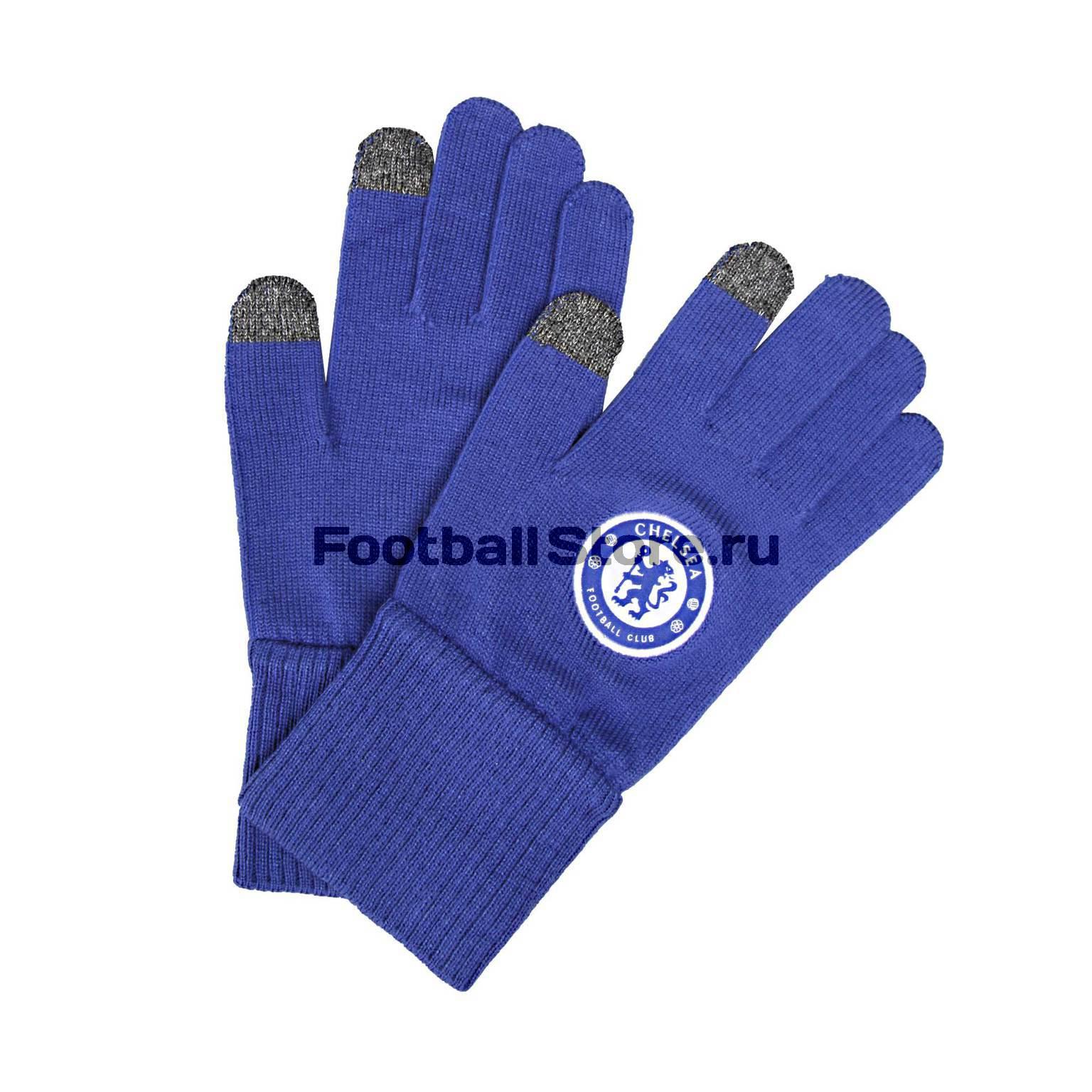 Adidas Перчатки тренировочные Adidas FC Chelsea A98715